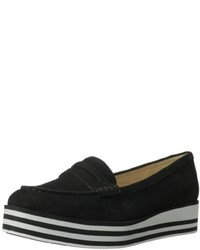 Black platform loafers original 10000884