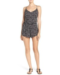 Beaded cover up romper medium 952157