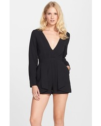 Nordstrom Clove Open Back Layered Romper