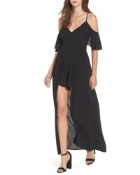 Socialite Cold Shoulder Maxi Romper