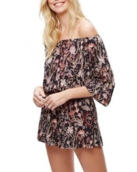 Free People Pretty Free Off The Shoulder Romper