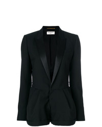 Saint Laurent Tailored Fitted Playsuit