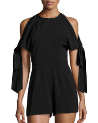 Keepsake Two Minds Cold Shoulder Playsuit