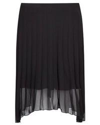 Mango Outlet Pleated Chiffon Skirt