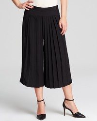 Tibi Culottes Simone Silk Pleated