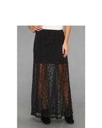 Billabong Shes A Doll Maxi Skirt Skirt Black