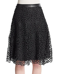 Willow clay lace midi skirt medium 274653