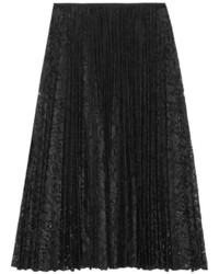 Zeyn pliss lace midi skirt medium 250462