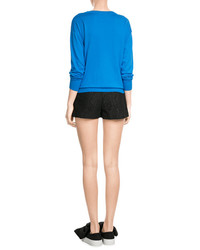 MSGM Pleated Lace Shorts