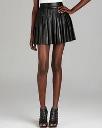 Alice + Olivia Skirt Leather Box Pleat
