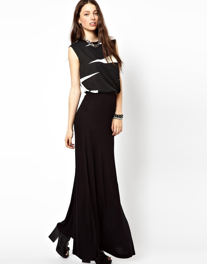 cheap monday maxi skirt black where to buy how to wear