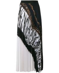 D-Exterior Dexterior Pleated Maxi Skirt