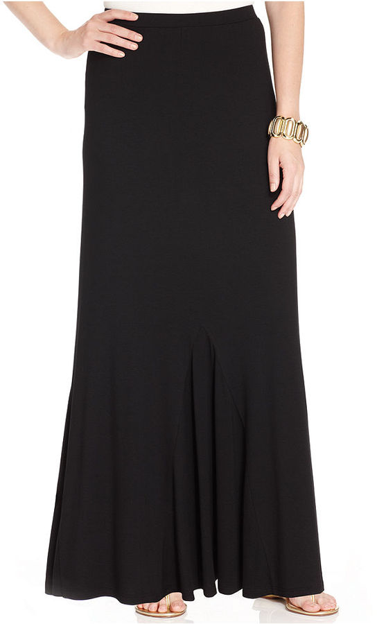 f1029272b9 Style&co. Godet Maxi Skirt, $49   Macy's   Lookastic.com
