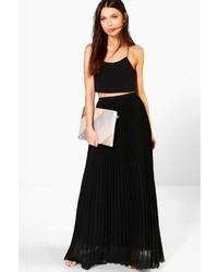 ff9010c4f Women's Black Pleated Maxi Skirts by Boohoo | Women's Fashion ...