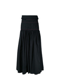 Ellery Pleated Maxi Skirt