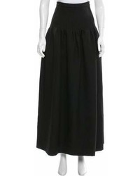 Valentino Wool Maxi Skirt
