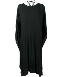 Balenciaga Pleated Midi Dress