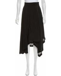 Loewe Asymmetrical Midi Skirt W Tags