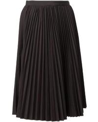 Comme des Garcons Junya Watanabe Comme Des Garons Pleated Midi Skirt
