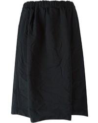 Comme Des Garons Girl Pleated Midi Skirt