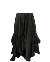 Comme Des Garçons Vintage Draped Midi Skirt