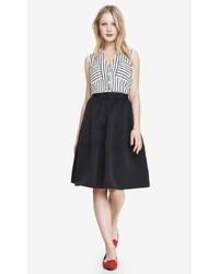 Express High Waist Full Midi Skirt