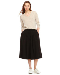 Joe Fresh Full Pintuck Skirt Black