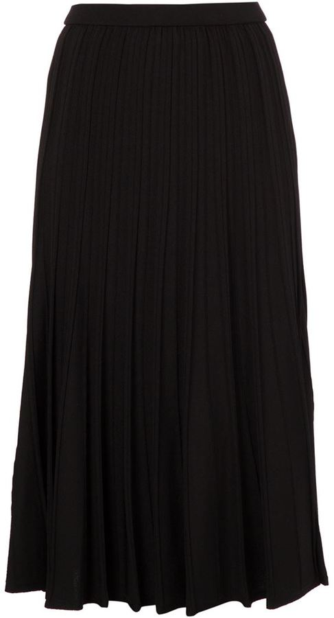le ciel bleu pleated midi skirt where to buy how to wear