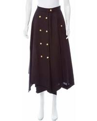 Loewe Linen Blend Midi Skirt W Tags