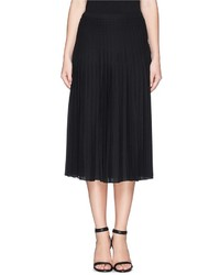333fee5b1 Women's Black Pleated Midi Skirts by Vince | Women's Fashion ...