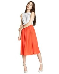 BCBGeneration Pleated Midi Skirt | Where to buy & how to wear