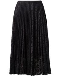 Pleated midi skirt medium 235175