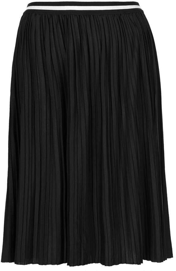 Topshop Sport Waistband Pleat Midi Skirt | Where to buy & how to wear