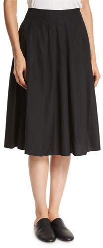 Vince Pleated Midi A Line Skirt | Where to buy & how to wear