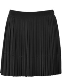 28a42423cecc ... Vanessa Bruno Ath Silk Pleated Skirt In Black ...