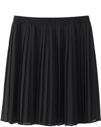 Uniqlo Chiffon Pleated Mini Skirt