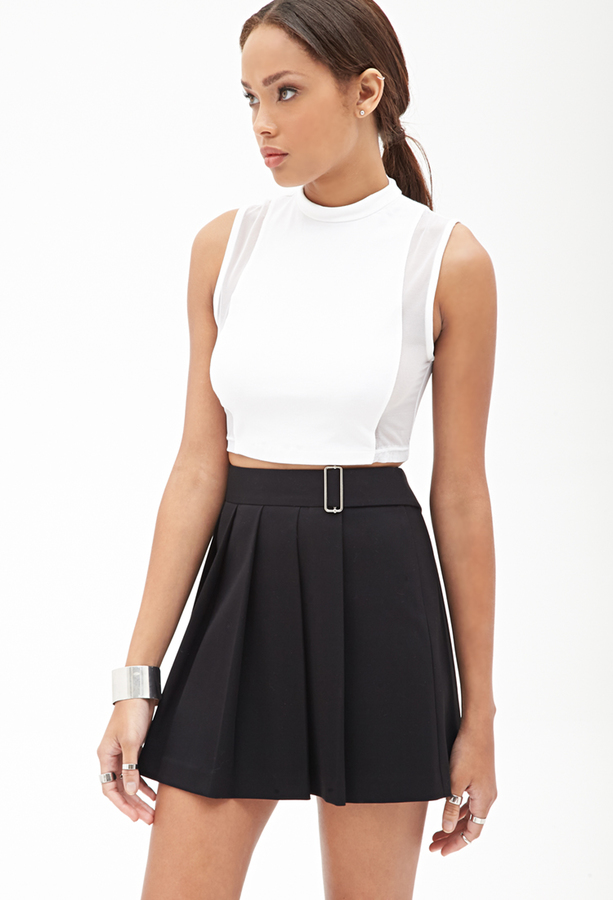 Forever 21 Pleated Mini Skirt | Where to buy & how to wear