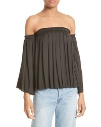 aa9f27ffc4d 1 STATE 1state Pleated Off The Shoulder Top Out of stock · Elizabeth and  James Emelyn Pleated Off The Shoulder Top