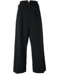 RED Valentino Pleated Cropped Trousers