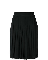 Versace Vintage Pleated Short Skirt