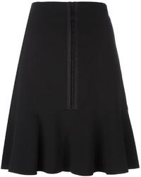 Etro Zip Up Pleated Skirt