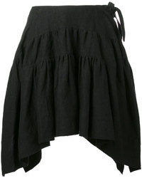 J.W.Anderson Jw Anderson Curved Pleated Skirt