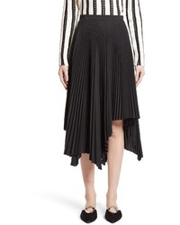 Proenza Schouler Pleated Handkerchief Hem Skirt