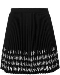 MSGM Print Pleated Skirt