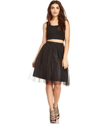 Dailylook andy tulle skirt in black xs m medium 134225
