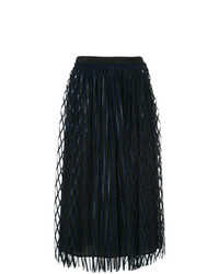 MSGM Striped Tulle Skirt