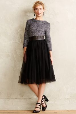 7b1c9ea1c5e60 Bailey 44 Tulle Midi Skirt, $168 | Anthropologie | Lookastic.com