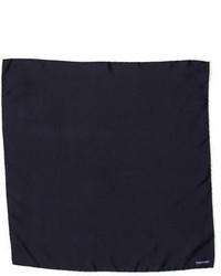 Tom Ford Solid Silk Pocket Square