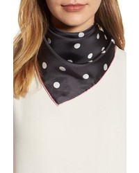 kate spade new york Dancing Dot Silk Bandana