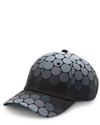 Black Polka Dot Baseball Cap